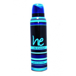 HE IS COOL DEO SPRAY 150ML