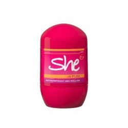 SHE IS FUN ROLL ON POUR FEMME 40ml