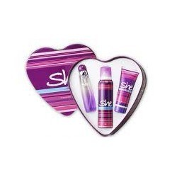 SHE IS SEXY EDT + DEO SPRAY COFFRET 3PCES